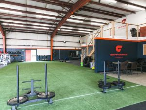 Weight area at our North Bellingham location